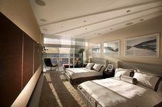 Roche Bobois   Modern Bedroom in Miami project #rochebobois #frenchartdevivre Interior designers: www.brittocharette.com Bed: http://www.roche-bobois.com/en-ZZ/product/rive-droite-bed-160x200