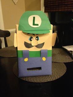 Luigi Mario valentine box
