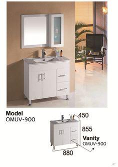 glossy white, 900mm vanity   Trade Me