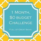Full of Great Ideas: 1 month, 15 projects, 100s of family hours, $0 = Priceless