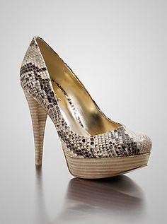02db8e157ba Adrienale Pumps at Guess. Snake Skin ShoesShoe GameSnake ...