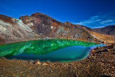 tongariro crossing lakes - Bing Images