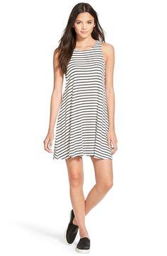 Socialite Stripe Swing Dress available at #Nordstrom