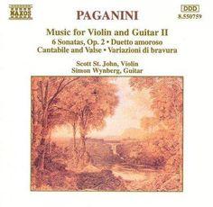 Niccolo Paganini - Paganini:Music for Violin and Guitar