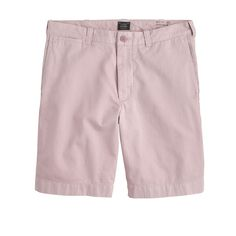 """J.Crew Mens 9"""" Short In Garment-Dyed Cotton (Size"""