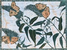 Fragile Flower prints - read more about printmaker Danielle Stretch from Fragile Flower in our New Maker Showcase.