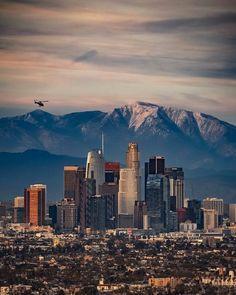 Downtown Los Angeles, California by Los Angeles Area, Downtown Los Angeles, San Diego, Nashville, Nova Orleans, Los Angeles Skyline, California Dreamin', California History, San Antonio