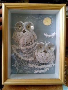 Quilled Owls