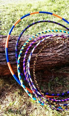 Duct tape decorated hula hoops http://www.duckbrand.com/?utm_campaign=dt-crafts&utm_medium=social&utm_source=pinterest.com&utm_content=random-acts-of-duct-tape
