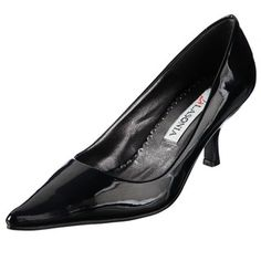 @Overstock - A shiny black patent leather construction highlights these stunning heels from Lasonia. A subtle 2.5-inch heel combines with a sharp pointed-toe to complete the look of these stylish heels.http://www.overstock.com/Clothing-Shoes/Lasonia-Womens-Pointed-toe-Heels/6449894/product.html?CID=214117 $20.99