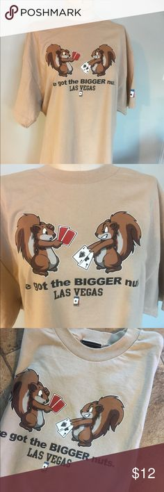 """Poker T Shirt """"I've got the Bigger Nuts"""" Great poker Tee made by The World Poker Tour.Great condition. world poker tour Shirts Tees - Short Sleeve"""
