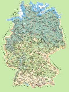 Map of France and Germany German Language Pinterest France