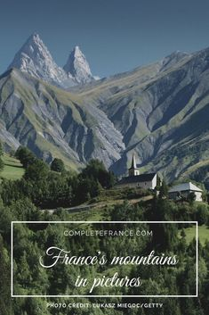 From picturesque Alpine towns to dramatic Pyrenean peaks, be inspired by these gorgeous photos of French mountains Picture Photo, Photo Credit, Holiday Ideas, France, Mountains, Inspired, Photos, Travel, Pictures