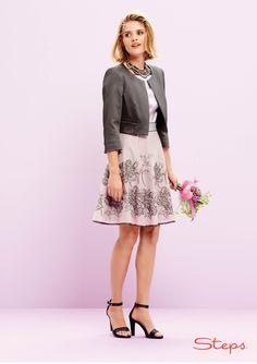 Lila jurk met versierde rok Steps® Officiële Webshop