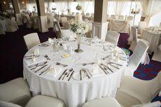 elegant banquet room
