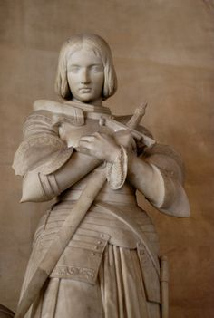 Joan of Arc.  Maybe she was a bit batty, or maybe she was just trying anything she could to get a bunch of sexist men to listen to her advice (I think the latter, obviously)