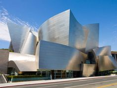 Walt Disney Concert Hall in LA by Frank Gehry #architecture