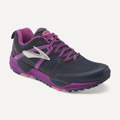 6be2106a4abb Brooks Cascadia 10 - Womens Trail Running Shoes - Midnight Purple Cactus