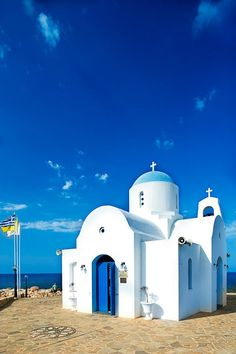church in Protaras, Cyprus