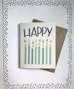 greeting card perfect for birthdays! Happy Birthday Cards Handmade, Creative Birthday Cards, Simple Birthday Cards, Bday Cards, Funny Birthday Cards, Birthday Images, Birthday Quotes, Birthday Greetings, Birthday Wishes