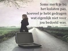 Words Quotes, Qoutes, Life Quotes, Sayings, Dutch Quotes, True Facts, Strong Quotes, Life Motivation, Cool Words
