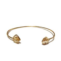 desideri design bangle bracelette swarovski crystals gold champagne color.jpg