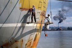 Fred Herzog, 'Boat Scrapers 1', 1964