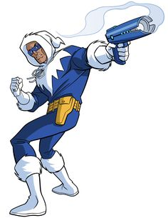 Captain Cold by Tim Levins