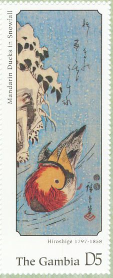 Mandarin Duck stamps - mainly images - gallery format