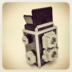 #Nanoblock Twin Lens Reflex (TLR) Camera  | Links to Facebook Page, Also Available via http://www.inanoblock.com