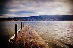 Zugersee Railroad Tracks, Switzerland, Beach, Water, Outdoor, Beautiful, Zug, Gripe Water, Outdoors