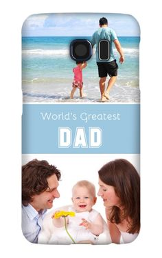Come shop this World's Greatest Dad Galaxy S6 Snap Case at http://www.putacaseon.me/products/worlds-greatest-dad-galaxy-s6-snap-case . Using our custom case tool you can design your case exactly how you want it.