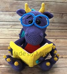 Ravelry: Reading Dragon Amigurumi pattern by Mary Smith