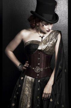 Steampunk Sari