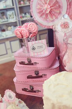 For pink Paris party.  Maybe blue theme instead and print on suitcase for use with photo booth