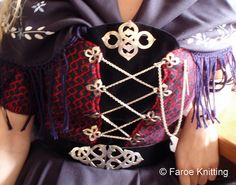 Detail of tradition #folkdress from the island of #Faroe #Denmark