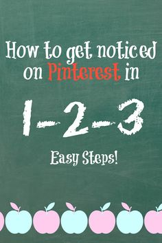 Get Noticed on Pinterest! Three easy steps to help you create pins that everyone will want to repin