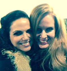 "Lana Parrilla: ""Love you, @bexmader You my gurl, Green !!! #Sisters """