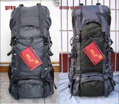 Waterproof Large 55L Camping Hiking Backpack Internal Frame Outdoor Sports Bag  #TommorrowWorld