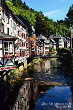 Monschau, Germany - Great little town near the Belgium border