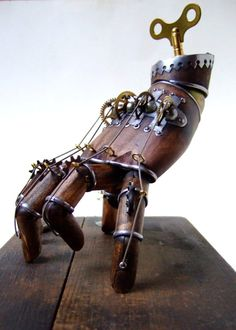 Clockwork Hand, presumably based off of Thing from the Addams Family
