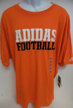 ADIDAS THE GO-TO TEE SHIRT MEN S INFRARED XXL SS 100% ORANGE WHITE 184d0ccadd