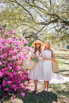 Outfit Details: On Julia- Rebecca Taylor Top, Brooks Brothers Skirt(dress version here), Lucy's Hat (