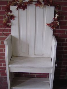 Unique Entryway Bench repurposed from an Old Door by deweym13 $110.00 & Popular items for shutters on Etsy | "|236|314|?|b2722ef55c740806d590cefc0089aacd|False|UNLIKELY|0.32381561398506165