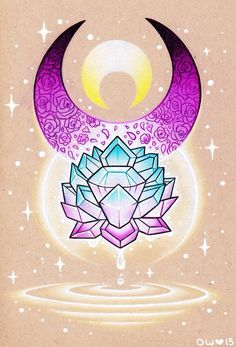 Sailor Moon Silver Crystal  by danniichan.deviantart.com                                                                                                                                                                                 Plus