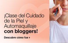 ¡Clase del Cuidado de la Piel y Automaquillaje con bloggers!