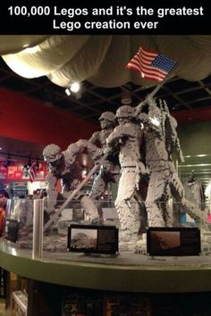 Wow! What time and dedication to create this and what an honor for our soldiers and remembering Iwo Jima.