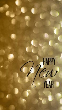 Happy New Year iPhone 4 and 5 Wallpaper