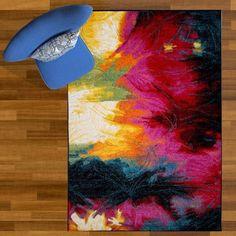 Home Dynamix Splash Collection - Contemporary Area Rugs for Modern Home Dᅢᄅcor with Abstract Patterns and Bright Colors, Multicolor