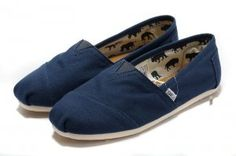 $24.00Canvas Navy Womens Classics Toms Shoes [toms-073] :